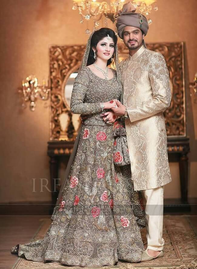 photo 7 Coloured Wedding Dresses for Brides Who Dont Do Traditional
