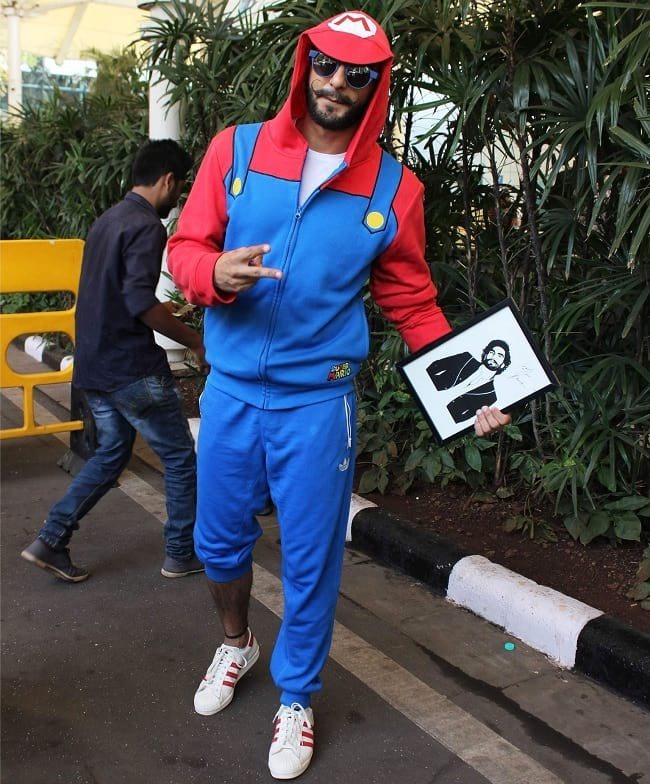 ranveer singh seen in different beard style
