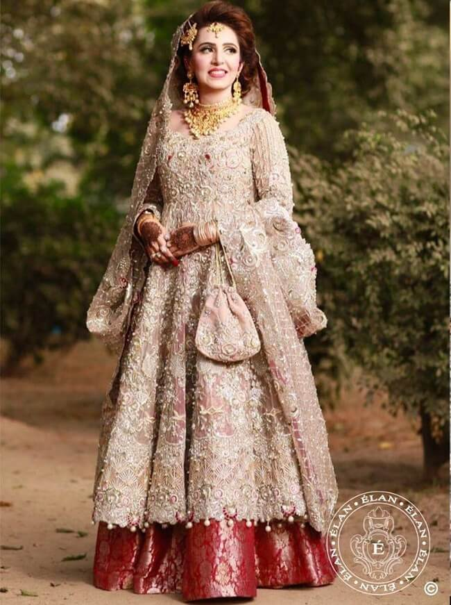 pakistani lehenga with long anarkali suits