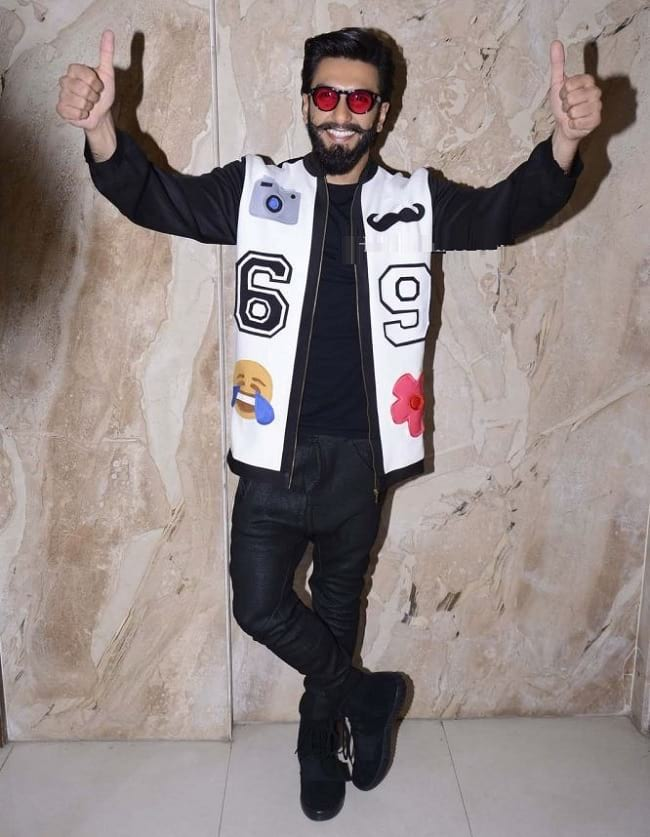 new fancy look of ranveer singh