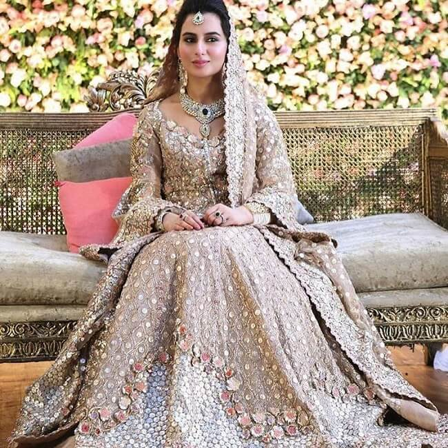 heavy pakistani bridal dresses