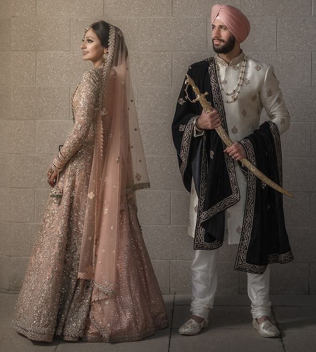 Shrewani Designs for Sikh Groom, Latest Wedding Sherwani Designs