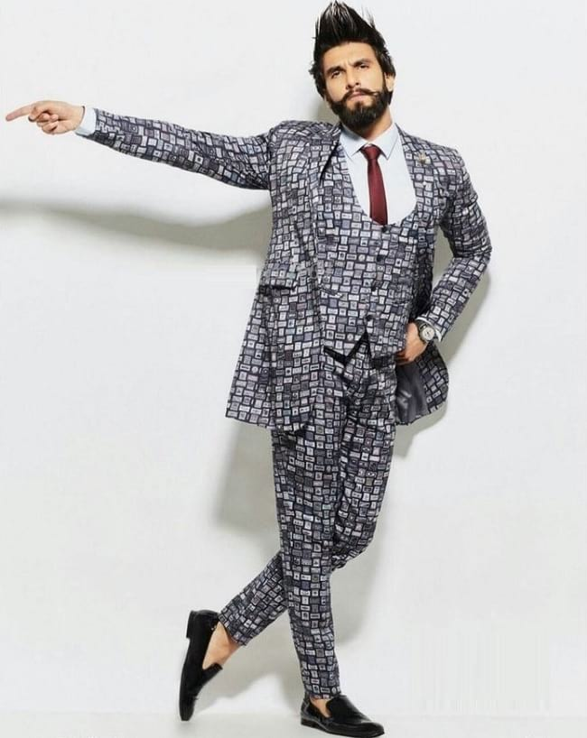 ranveer singh in formal & stylist look