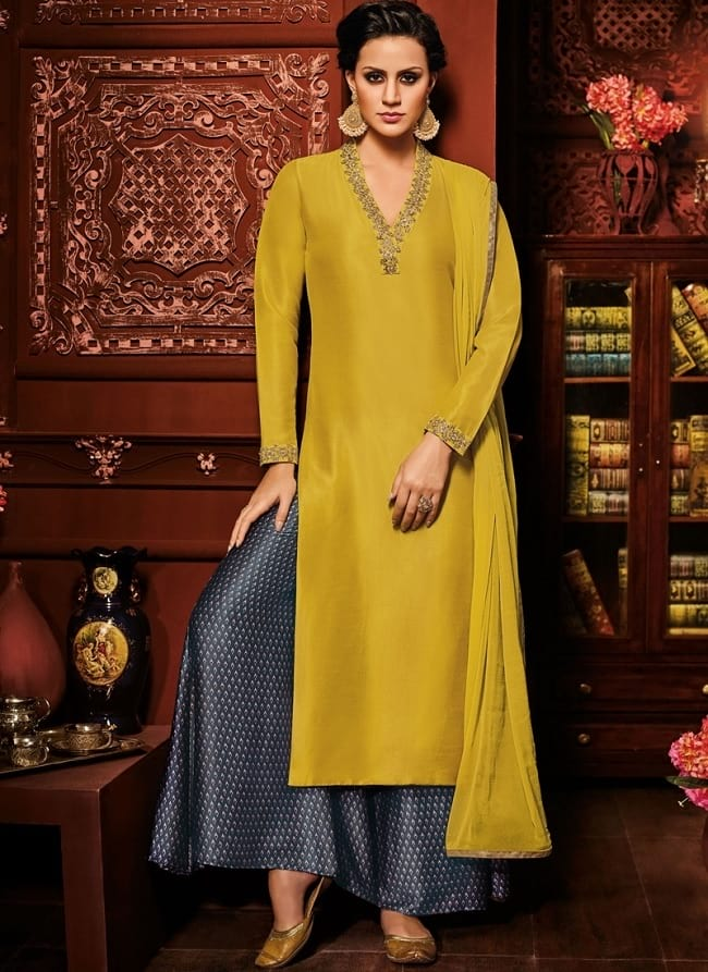 p[arty wear salwar suits for wedding