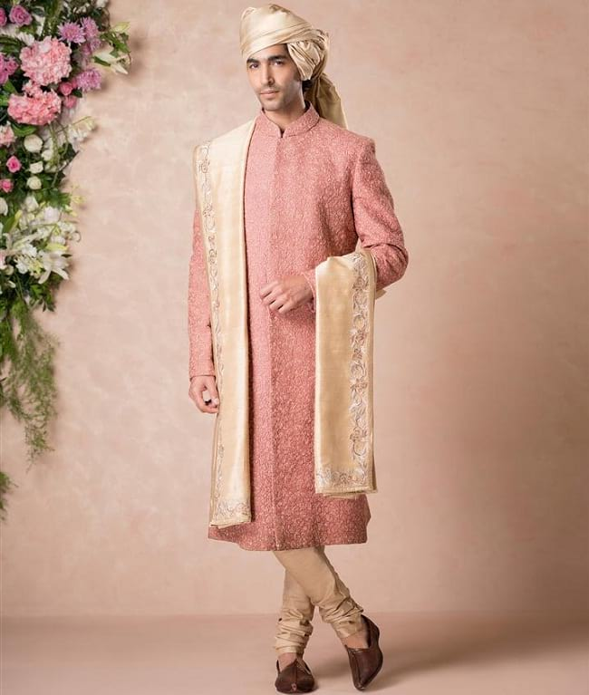 Embroidered best sherwani designs for groom