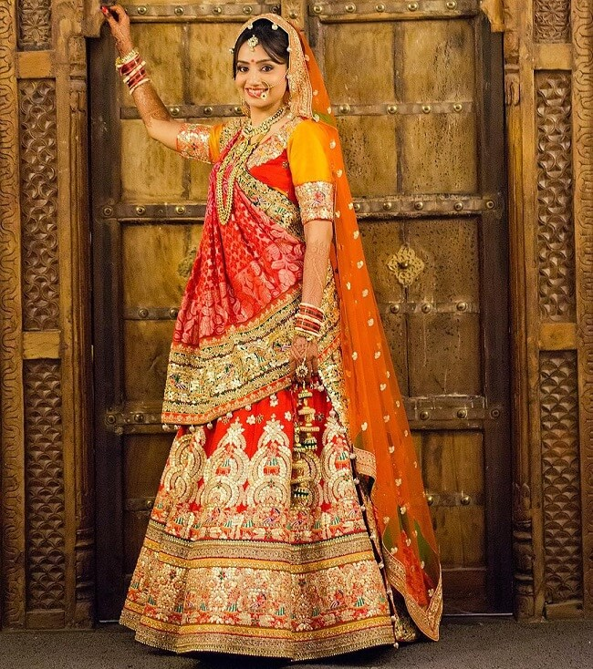 indian bride picture poses