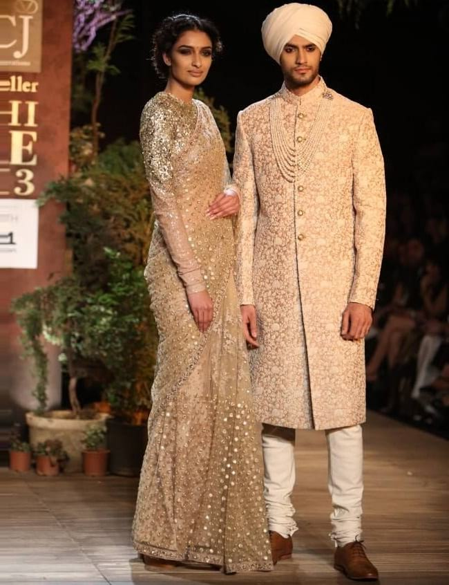 different types of sherwani designs for Pakistani Groom