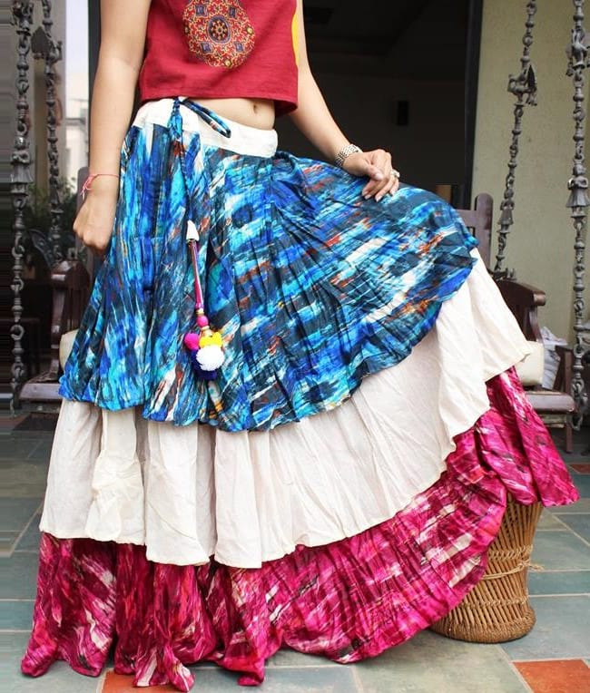 different ways to look stylish in choli this navratri