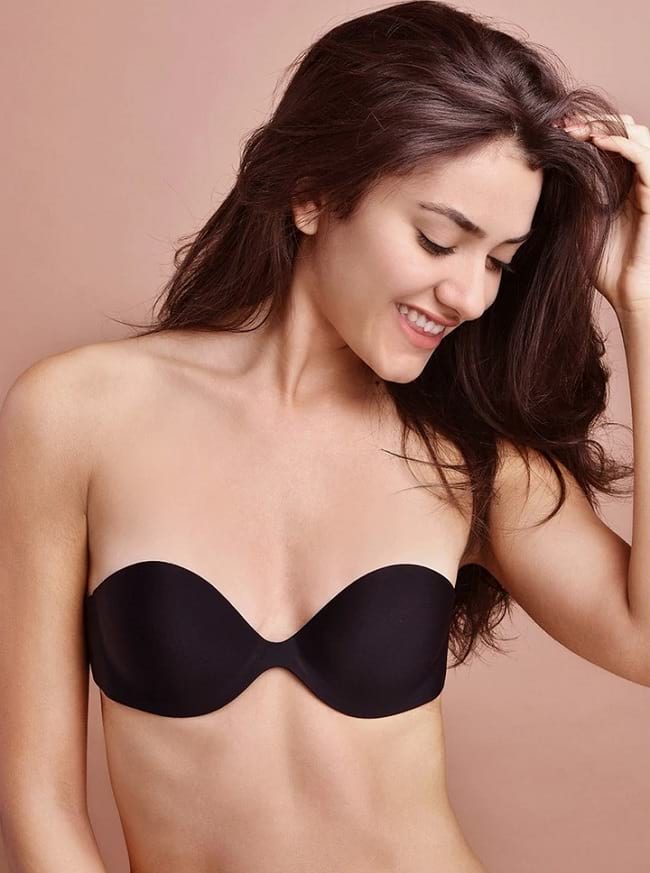 How to use stick on bra online india