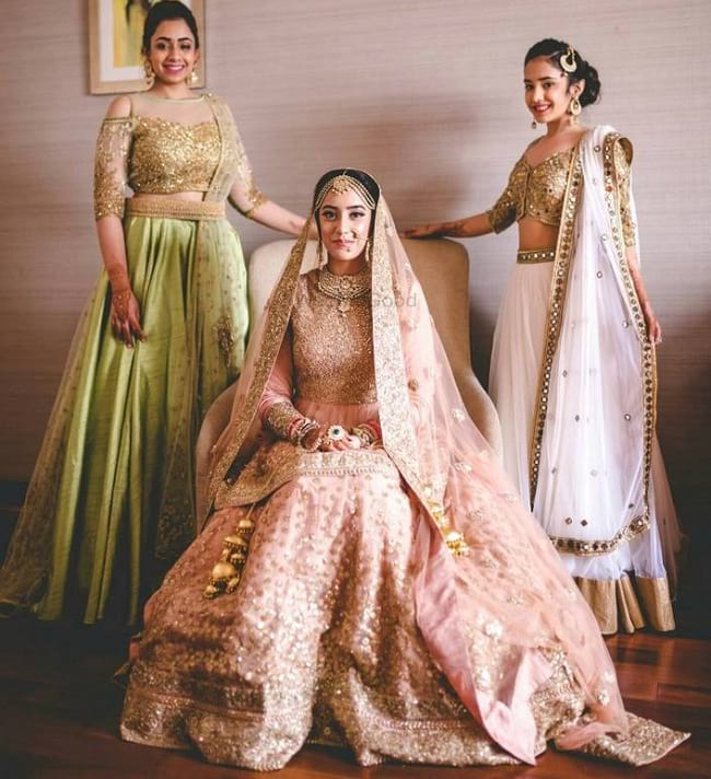 35 Punjabi Bridal Lehenga Styles That You Would Want To Steal Looksgud In