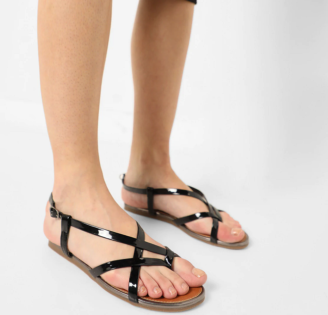 Black Cartlon London sandal