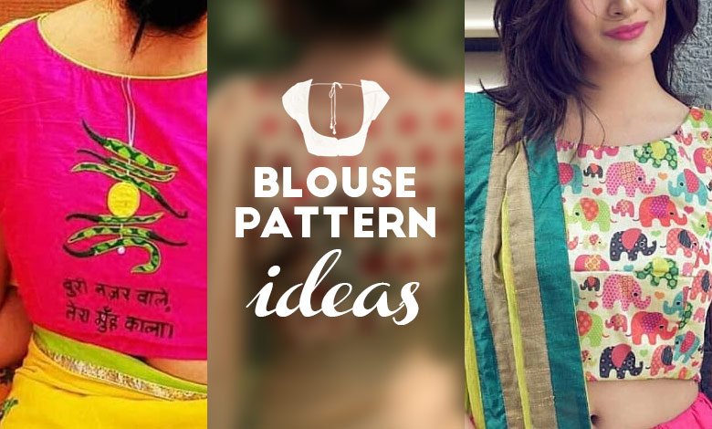 New Blouse Patterns Ideas to Ditch The Conventional Designs