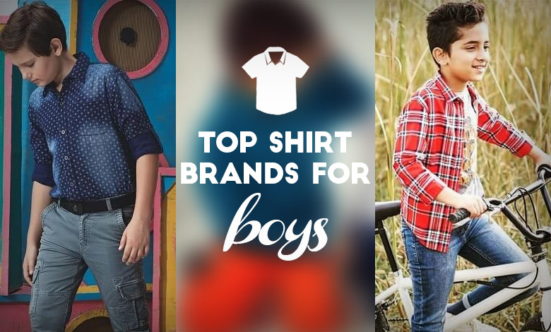 Top 10 Brands to Buy Shirts Online for Boy in India