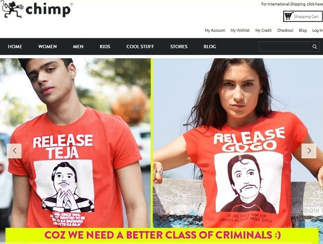 buy funny t-shirts online india