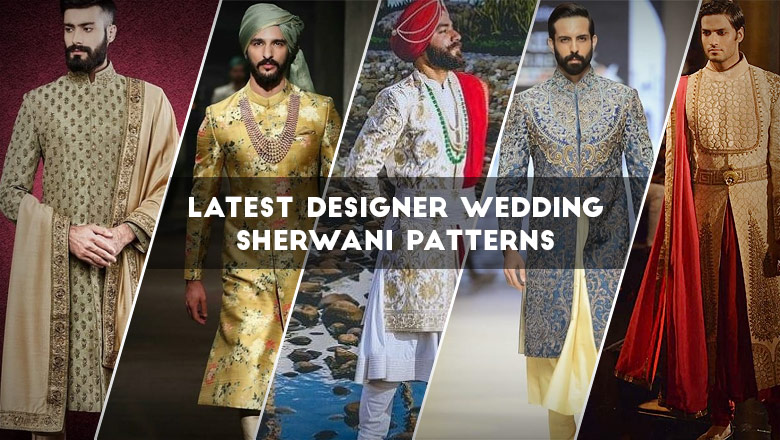 latest designer wedding sherwani patterns for indian groom looksgud in