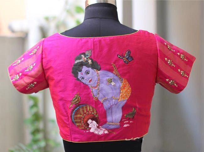 latest embroidery designs blouse
