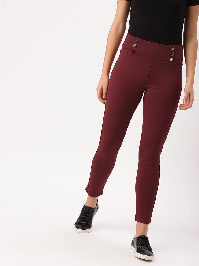 dressberry blue jeggings online india