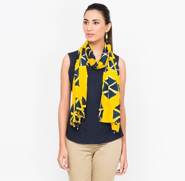 fabindia silk scarves and stole