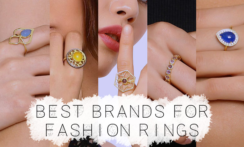 top ring brands for men and women in india for online shopping