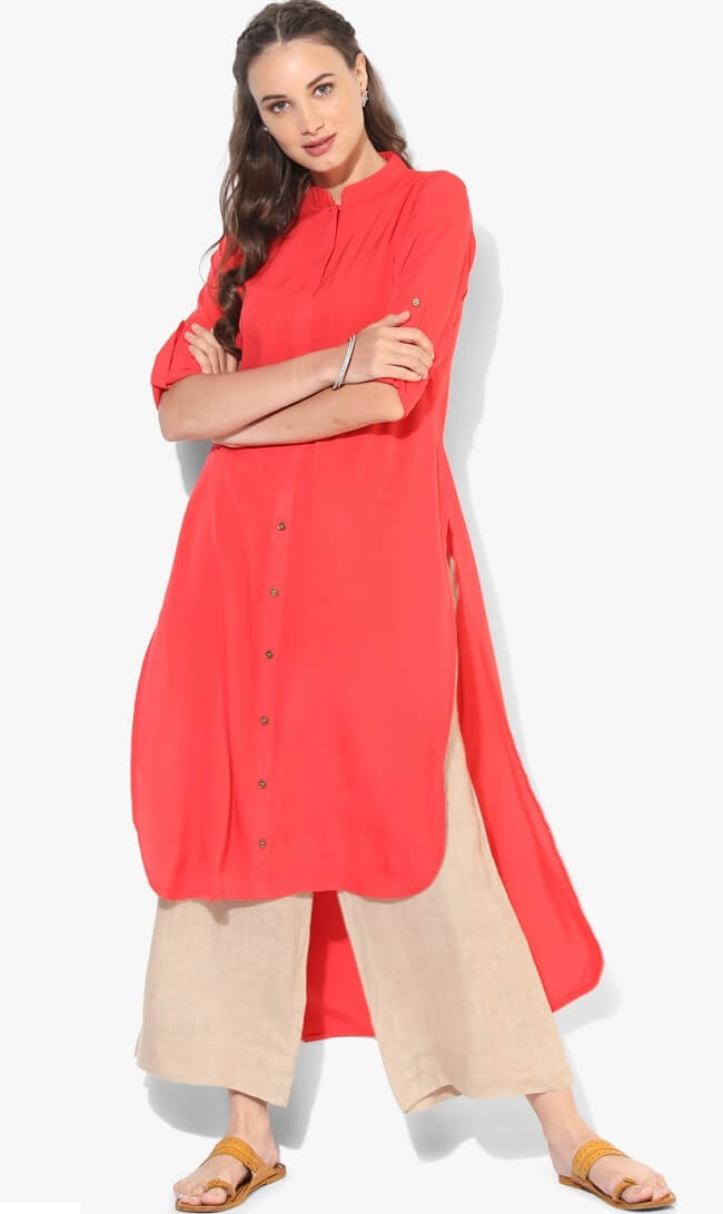 designer stylish ethnic cotton kurti online