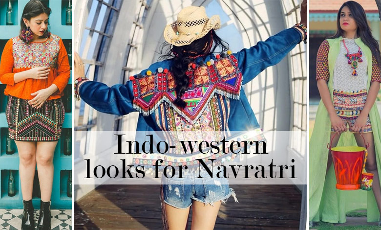 indo western styles to try in navratri