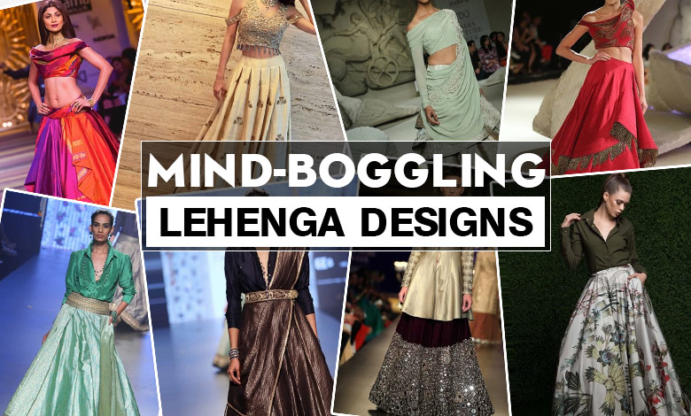 latest lehenga designs to wear in wedding for indian bride
