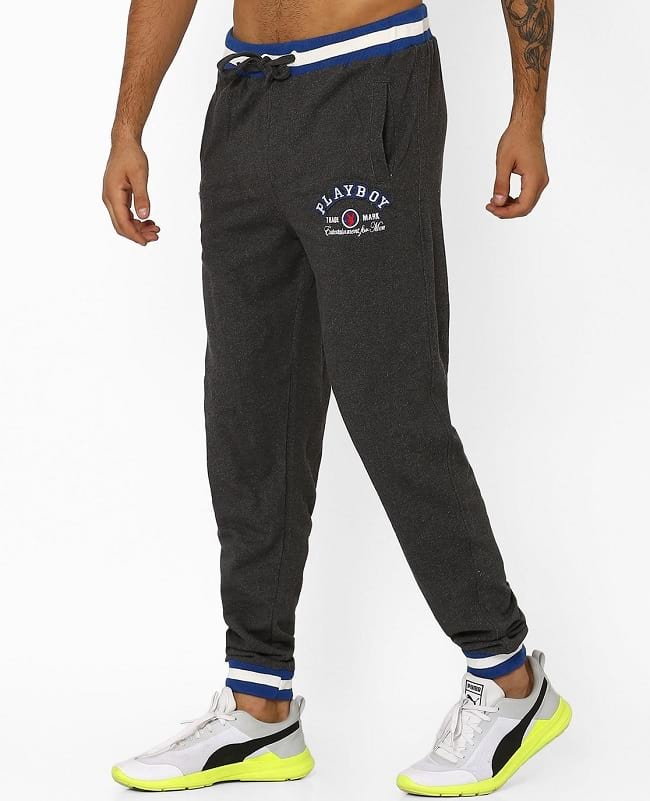 playboy homeware & bunny nightwear collection, best night joggers pant brands india