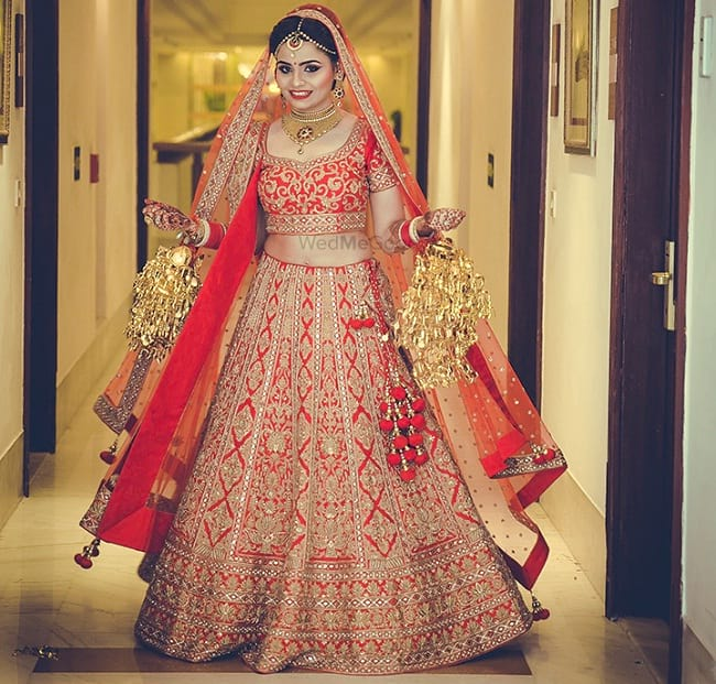 Punjabi wedding lengha images for Punjabi wedding dresses online