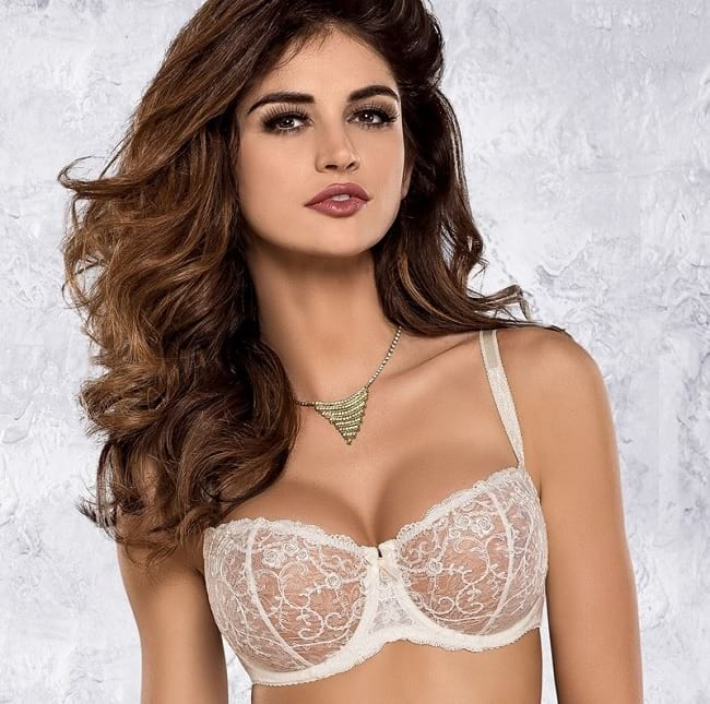 ultra transparent sheer bra image with price