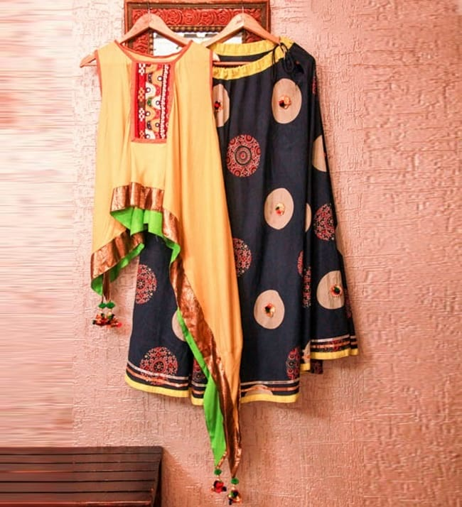 garba chaniya choli patterns