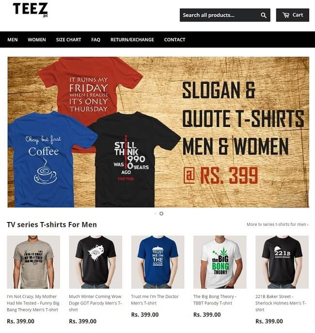 best t-shirt quotes ever