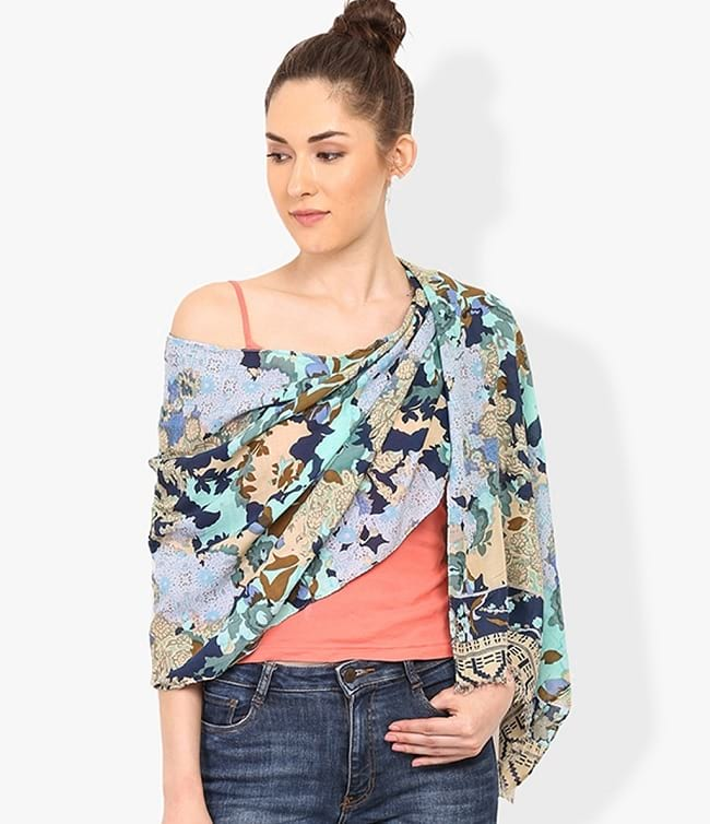 trend arrest shawls and stoles online with price