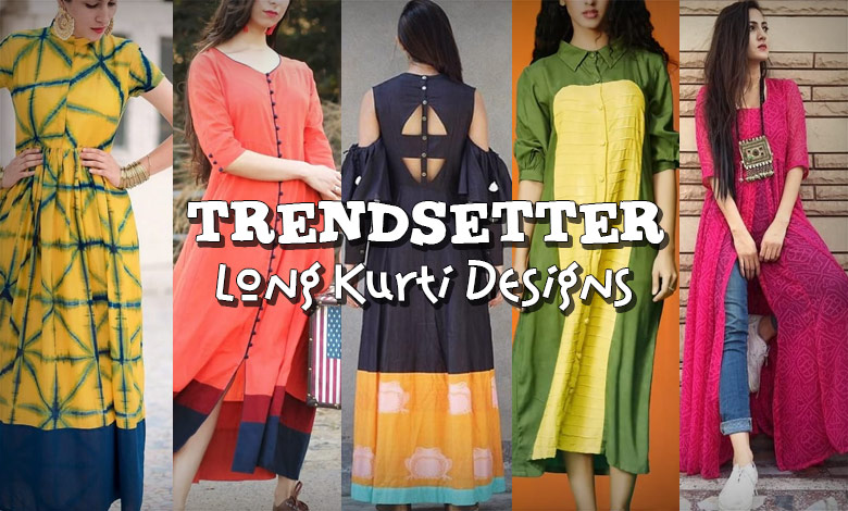 6ada6506e2 Even the biggest fashionistas in town are now pepping up their Instagram  feed with pictures of long kurtis teamed up with skirts, palazzo pants and  jeans to ...