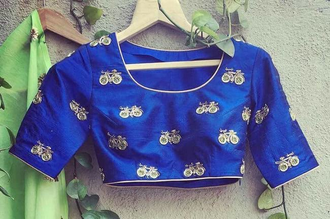 janome embroidery design blouse library