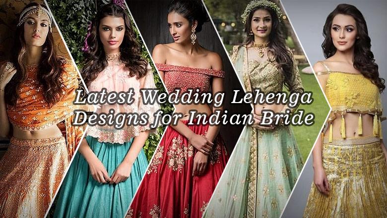 Indian Wedding Lehenga Choli Designs for bride