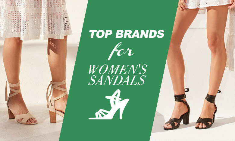Top 10 Women Sandal Brands to buy online in India