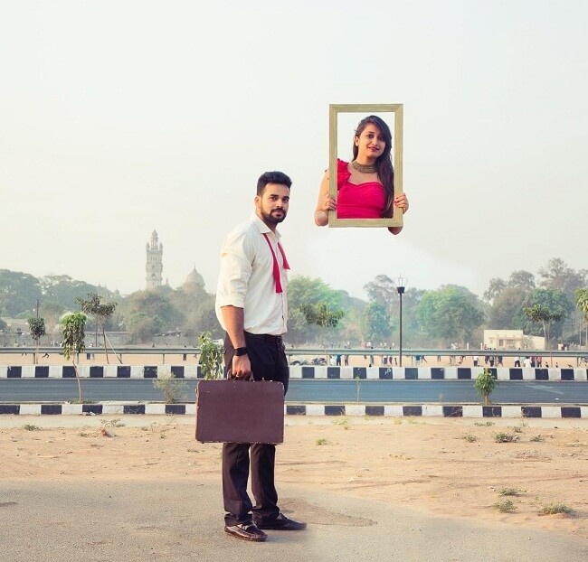 new indian pre wedding shoot poses