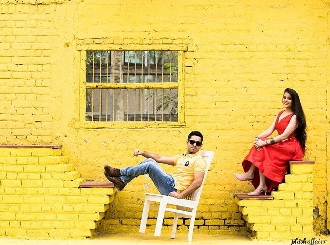 gown and dresses ideas for pre wedding photoshoot