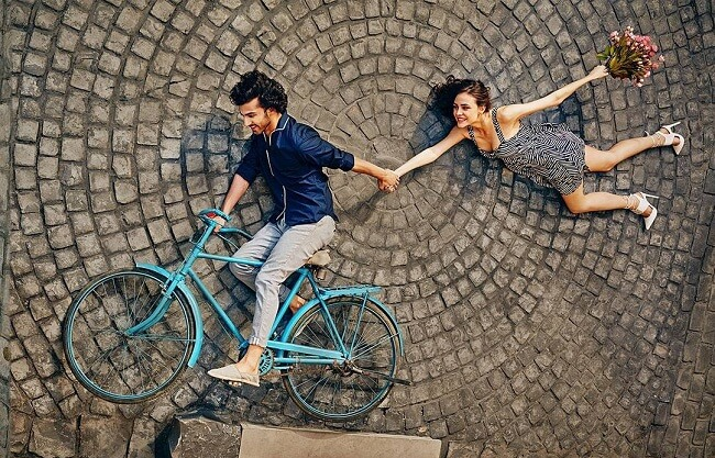 creative indian pre wedding photography ideas