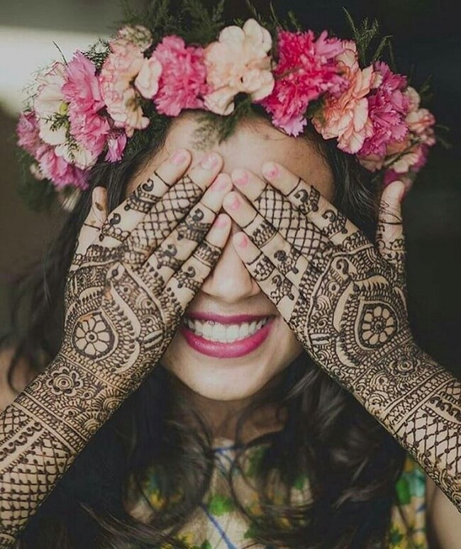 mehndi photography tips