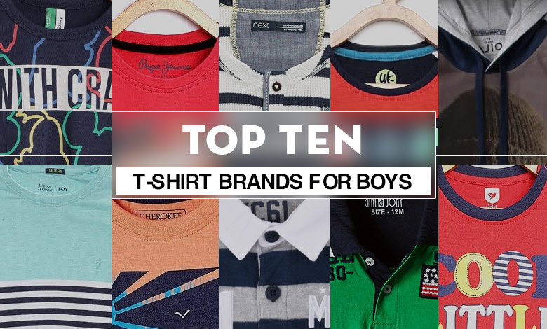 best boy's t-shirts brands to buy online in india