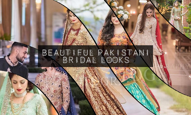 Pakistani Bridal Lehenga Designs for Wedding