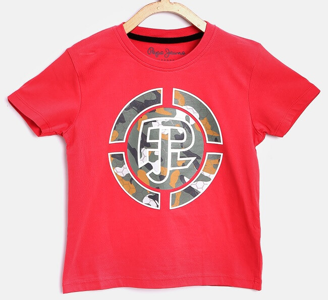pepe jeans collar t shirts on myntra