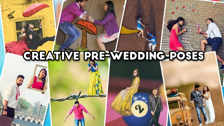 Prewedding photo poses