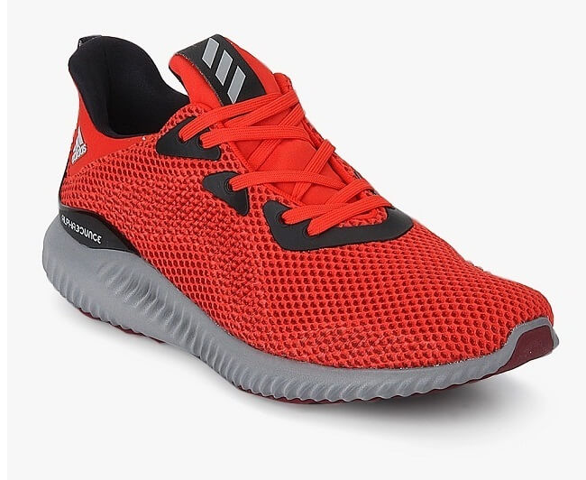 Adidas Alphabounce 1 Red Running Shoes