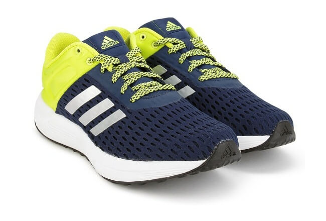 Adidas HELKIN 2.0 M Navy & Green Running Shoes