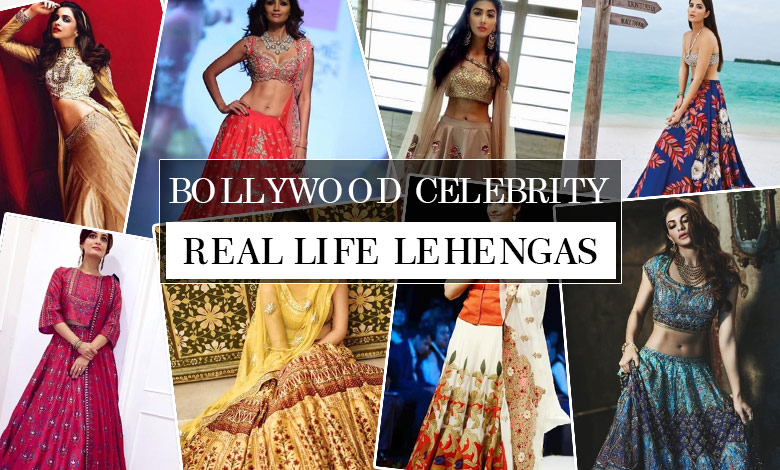 27 Bollywood Celebrity Real Life Lehenga Designs Photos Looksgud In