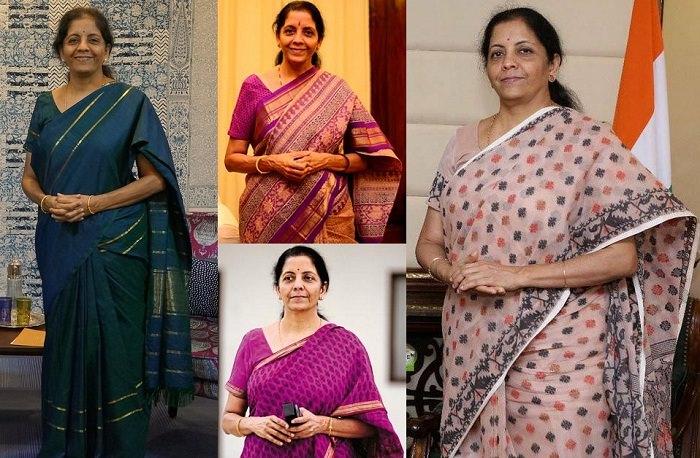 Nirmala Sitaraman Saree styles