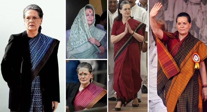 indian women politicians in saree style