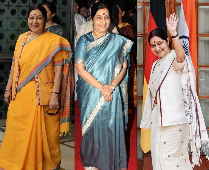 Nirmala Sitaraman saree fashion trend